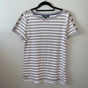 Lauren Ralph Lauren striped tshirt NWT